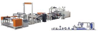 PC光学片材生产线