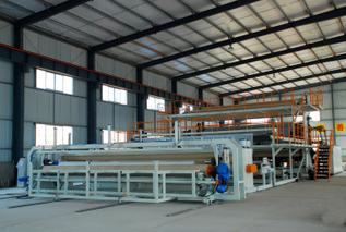 PE防水卷材/土工膜设备生产线