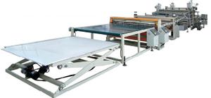 ABS冰箱板生产线
