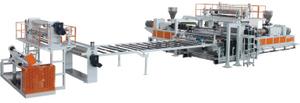 PVC地板革生產線