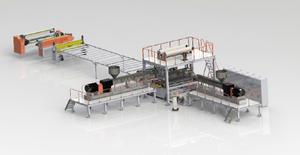 TPO防水卷材生产线